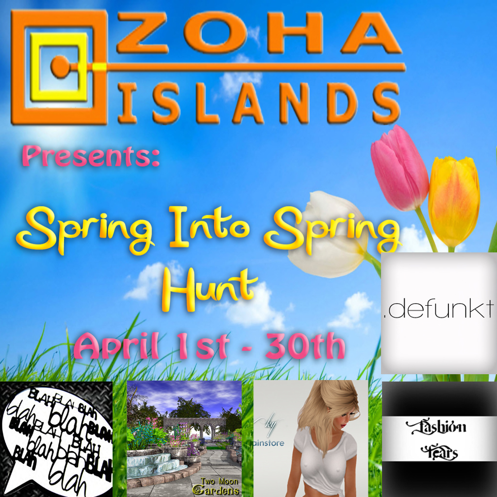 ZoHa Islands - Spring Into Spring Hunt Poster vendor pic