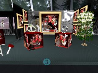 ZI Wedding Expo red rose jewelry_001