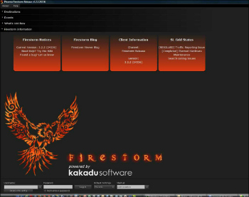 Firestorm viewer smallest