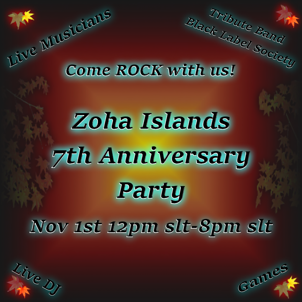 zoha party poster2