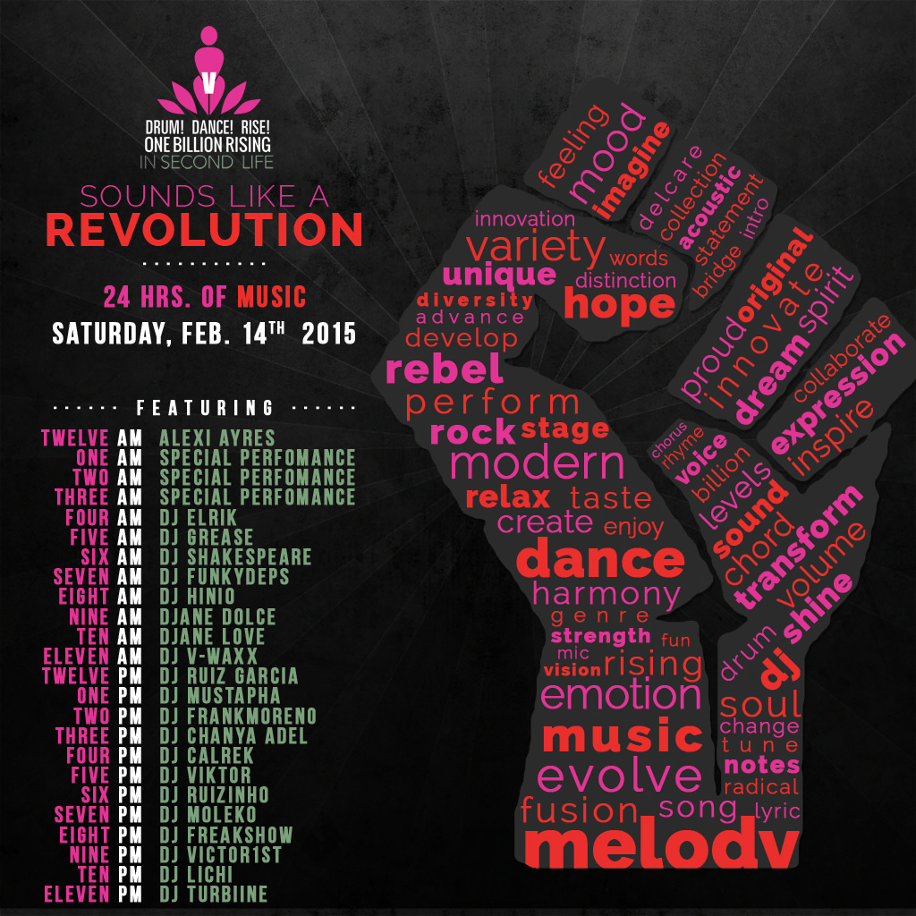 OBR 2015 in SL Music events
