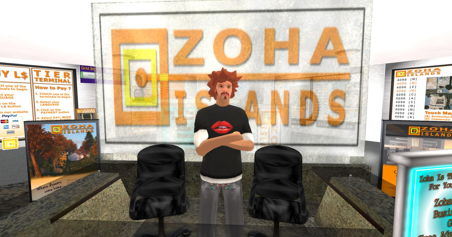 ZoHa Islands's Greeter Bot