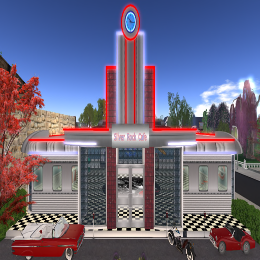 Party venue in second life zoha islands second life for 50 s diner exterior