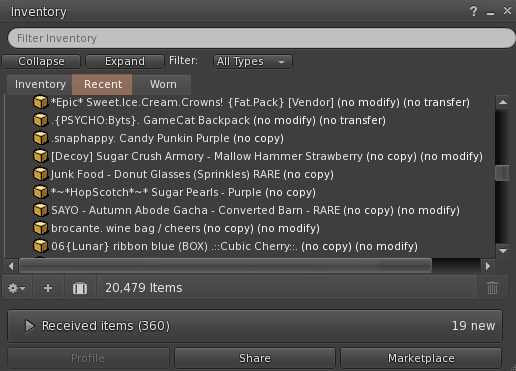 The Master Plan to Organize your SL Inventory and Keep it Clean!
