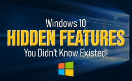 [FIFTEEN] Windows 10 Features You Didn't Know About
