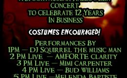 ZoHa Islands & Fruit Islands Spooktacular Halloween Concert Today!