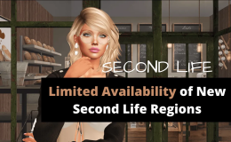 Second Life Runs Out Of Land.