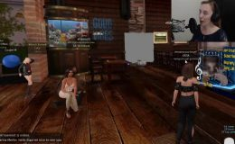 Katiaportugal Genesis Performs Live in Second Life While Streaming